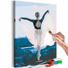 Cuadro para colorear - Ballerina Outdoor