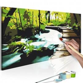 Quadro pintado por você - Footbridge