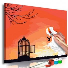 Quadro pintado por você - Open Cage