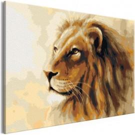 Quadro pintado por você - Lion King