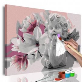 Cuadro para colorear - Angel's Dreams