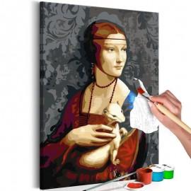 Cuadro para colorear - Famous Portrait