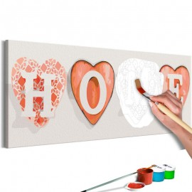 Quadro pintado por você - Four Hearts