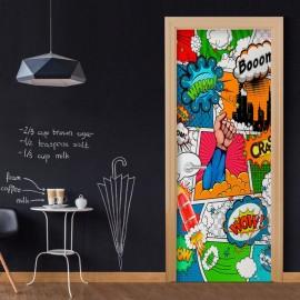 Fotomural para puerta - Comic World