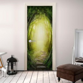 Fotomural para porta - The Forest of Fantasy