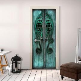 Fotomural para porta - Emerald Gates