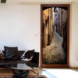 Fotomural para puerta - Stony City