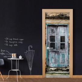 Fotomural para porta - Old Door