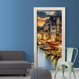 Fotomural para porta - Venetian Harbour