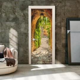 Fotomural para porta - Alley in Italy