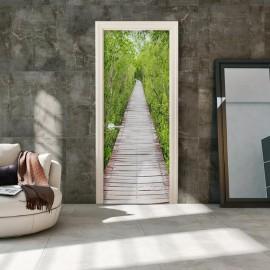 Fotomural para porta - The Path of Nature