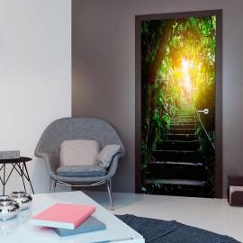 Fotomural para porta - Photo wallpaper - Stairs in the urban jungle I
