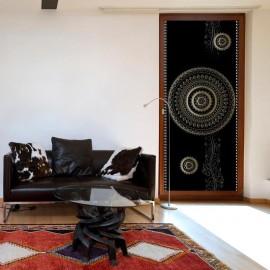 Fotomural para puerta - Photo wallpaper - Pattern – circles I