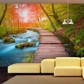 Papel de parede autocolante - Oasis of peace