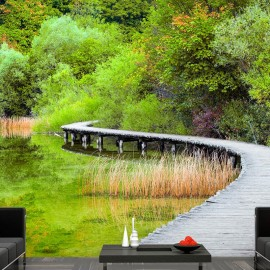 Fotomural autoadhesivo - Beautiful green