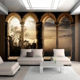 Papel de parede autocolante - Mountain monastery