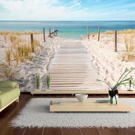 Papel de parede autocolante - Holiday at the seaside
