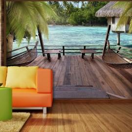 Fotomural autoadhesivo - Descanso veraniego