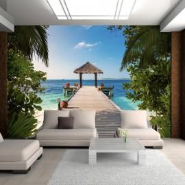 Papel de parede autocolante - Hawaiian dream