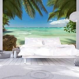 Fotomural autoadhesivo - Relajación en la playa