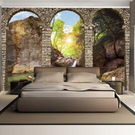 Papel de parede autocolante - Morning relaxation