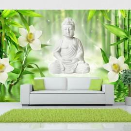 Fotomural autoadhesivo - Buda y naturaleza