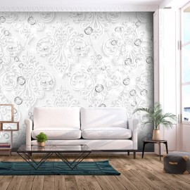 Papel de parede autocolante - Ornaments with Diamonds
