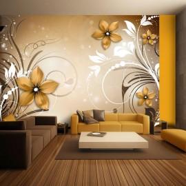 Papel de parede autocolante - Brown rhapsody