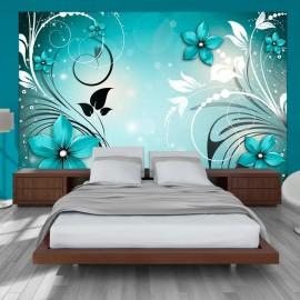 Papel de parede autocolante - Turquoise dream