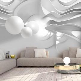 Fotomural autoadhesivo - White Corridors