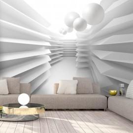 Fotomural autoadhesivo - White Maze