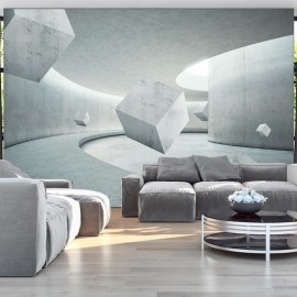 Papel de parede autocolante - Geometry of the Cube