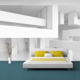 Papel de parede autocolante - Alabaster maze
