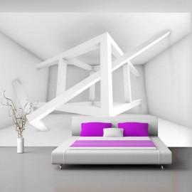 Papel de parede autocolante - Alabaster composition