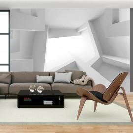 Fotomural autoadhesivo - Habitación blanca