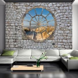 Fotomural autoadhesivo - Detrás del muro