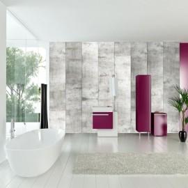 Papel de parede autocolante - Concrete mosaic