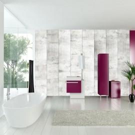 Fotomural autoadhesivo - Mosaico de acero