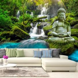 Papel de parede autocolante - Cascades of Calm
