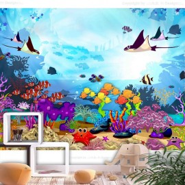 Fotomural autoadhesivo - Underwater Fun