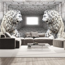 Fotomural - Stone Lions