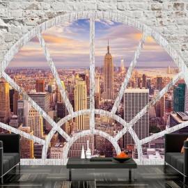 Papel de parede autocolante - NY - Wonderful view