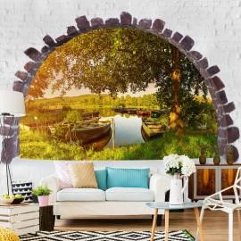 Papel de parede autocolante - Summer Lake