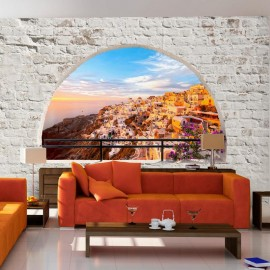 Fotomural autoadhesivo - Santorini