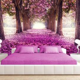 Papel de parede autocolante - Pink path