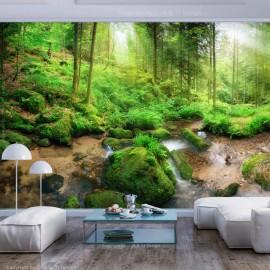 Papel de parede autocolante - Humid Forest