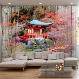 Papel de parede autocolante - Autumnal Japan