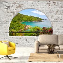 Papel de parede autocolante - Emerald Island