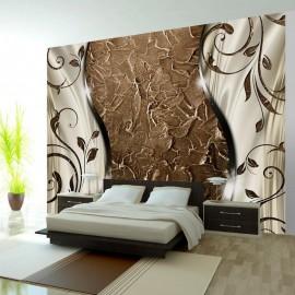 Papel de parede autocolante - Brown twigs