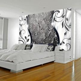 Papel de parede autocolante - Silver twigs